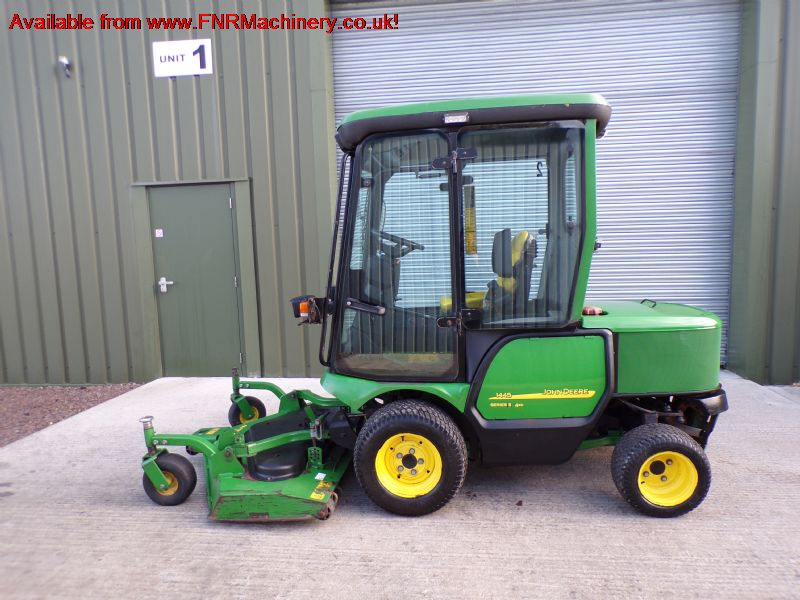 SOLD!!! JOHN DEERE 1445 MOWER WITH CAB