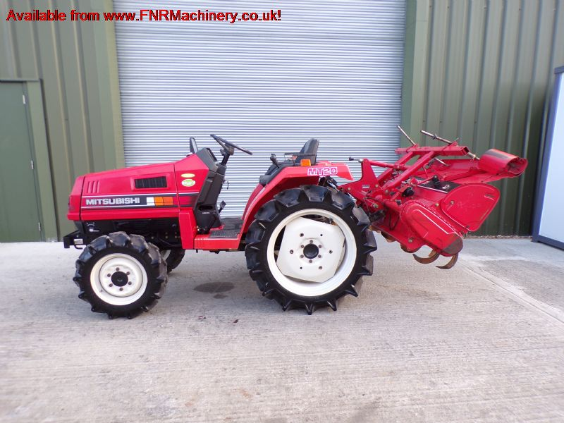 SOLD!!! MITSUBISHI MT20D COMPACT TRACTOR AND TILLE