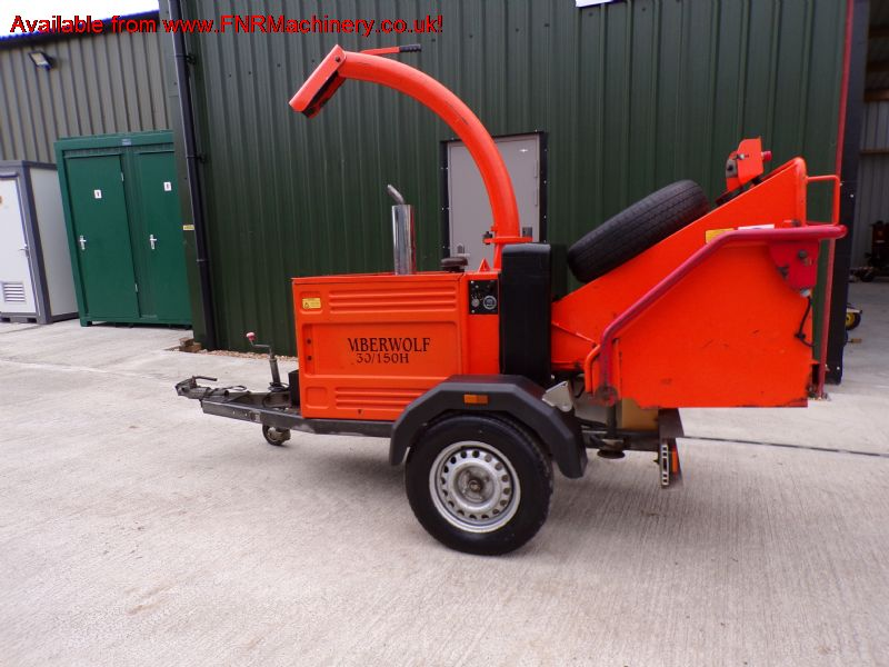 TIMBERWOLF TW30 150H CHIPPER twin roller diesel