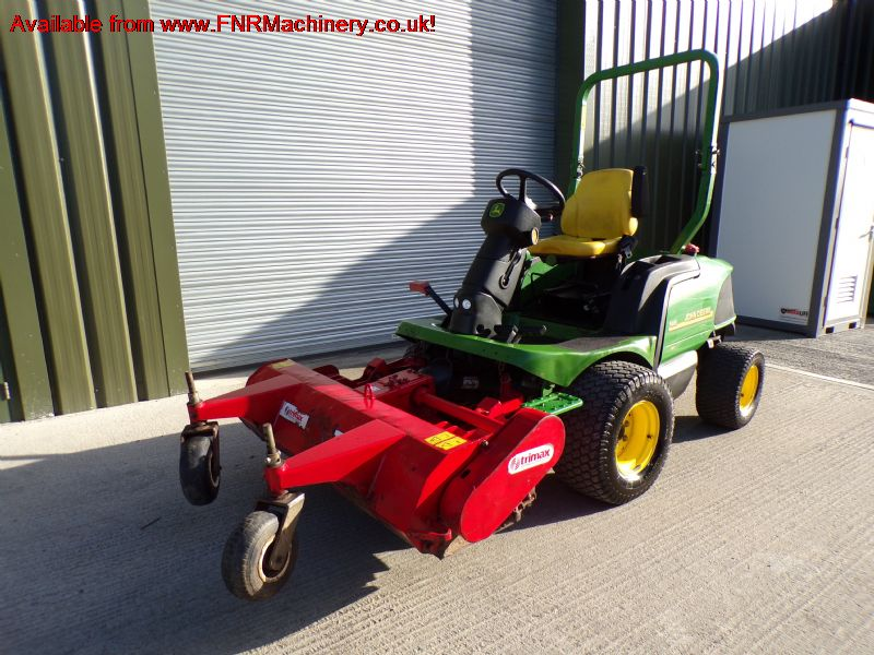 SOLD!!! JOHN DEERE 1445 MOWER TRIMAX 155 FLAIL HEA