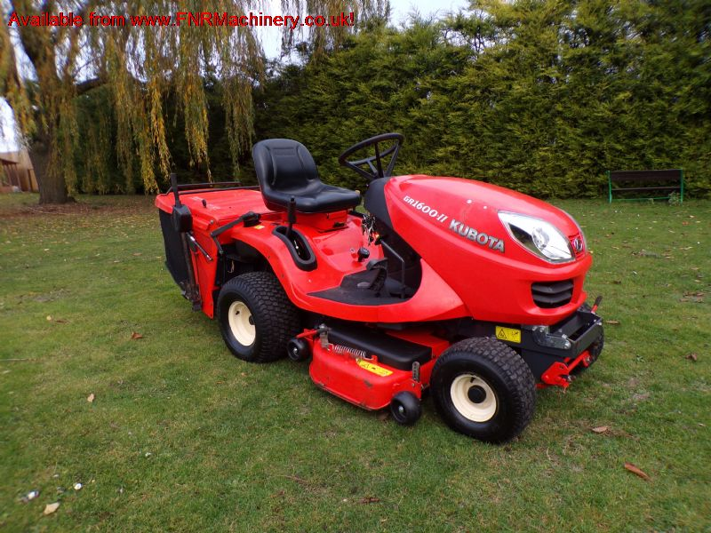 KUBOTA GR1600 II GARDEN LOW TIP MOWER