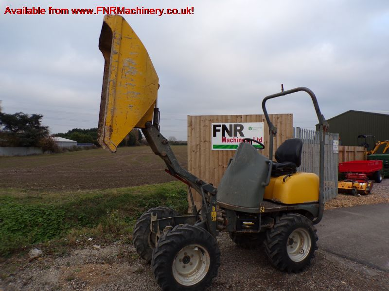 SOLD!!! NEUSON LIFTON 1001 1 TONN DUMPER