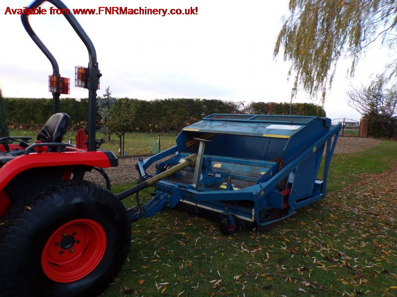 SOLD!!! WESSEX HTC 18 SWEEPER COLLECTOR