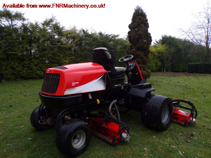 SOLD!!! JACOBSEN FAIRWAY 250 LARGE AREA REEL MOWER