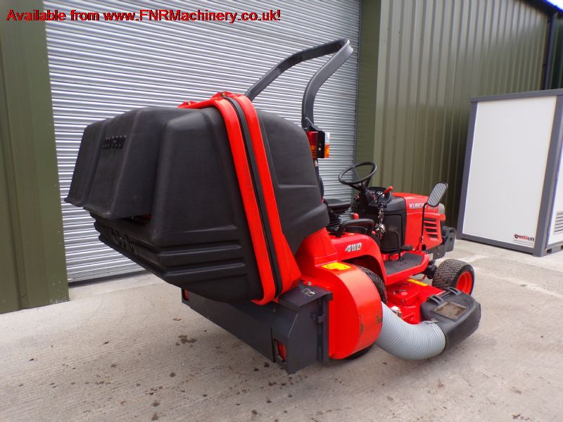 KUBOTA BX2350 SUB COMPACT TRACTOR LOW TIP COLLECTO