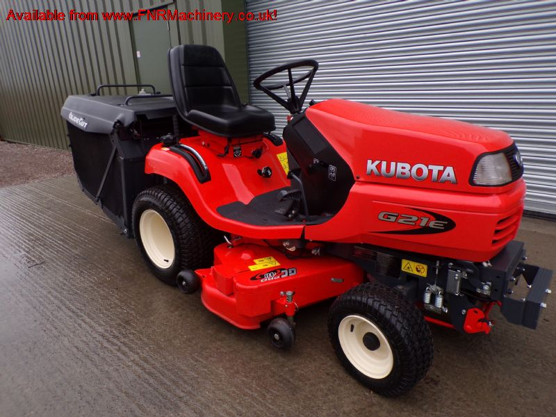SOLD!!! KUBOTA G21E DIESEL RIDE ON MOWER LOW TIP C