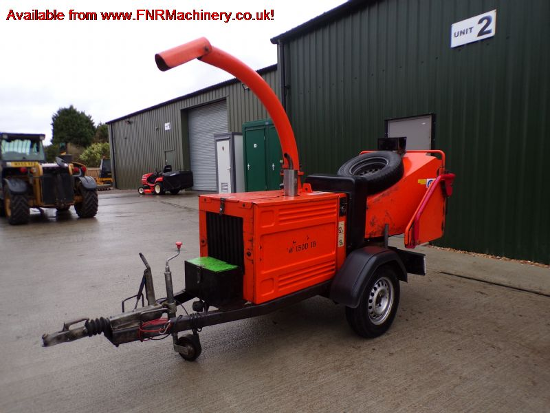 SOLD!!! TIMBERWOLF TW150 DHB WOOD CHIPPER
