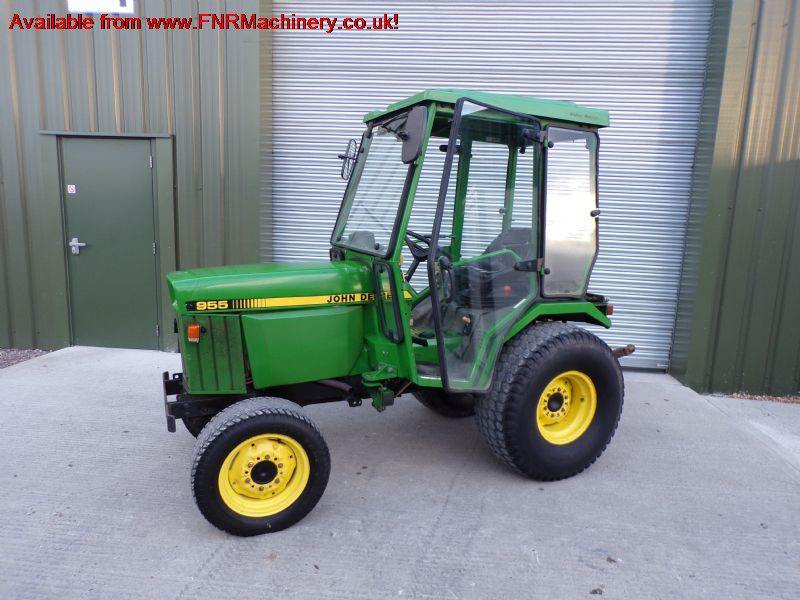 SOLD!!! JOHN DEERE 955 COMPACT TRACTOR WITH CAB
