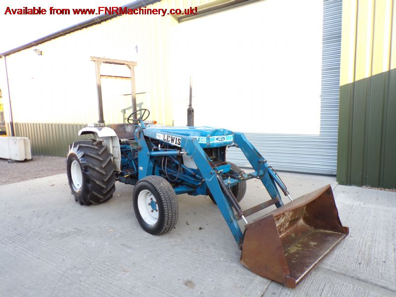 SOLD!!! FORD 1910 TRACTOR AND LEWIS LOADER