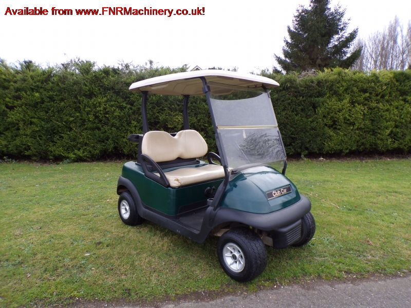 ALL SOLD!!! CLUB CAR PETROL GOLF BUGGY only 7 left