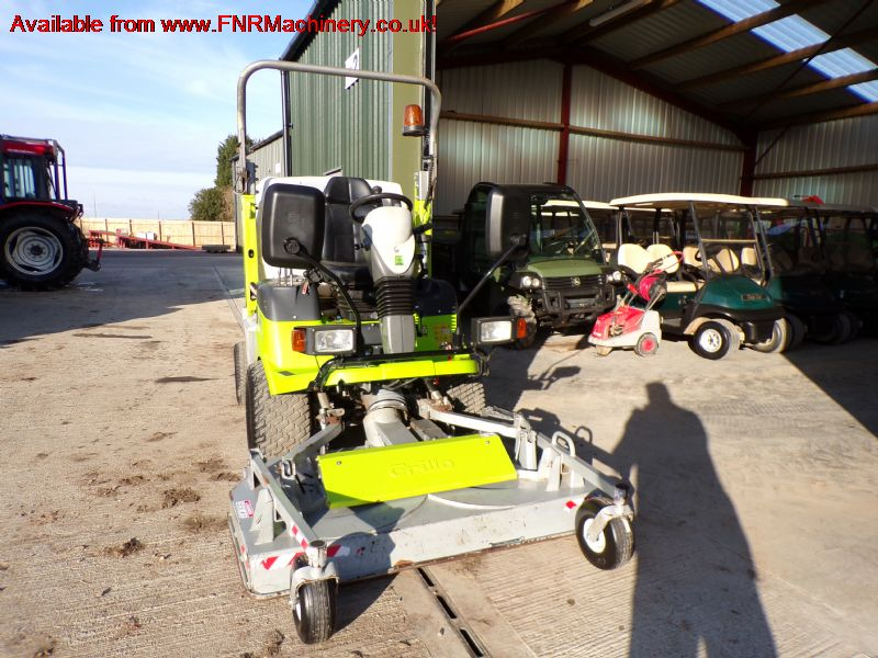 GRILLO FD1500 PRO OUTFRONT MOWER COLLECTOR