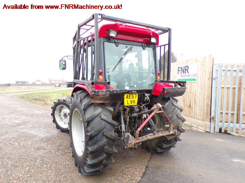 SOLD!!! TYM T700 TRACTOR WITH FORESTRY CAGE