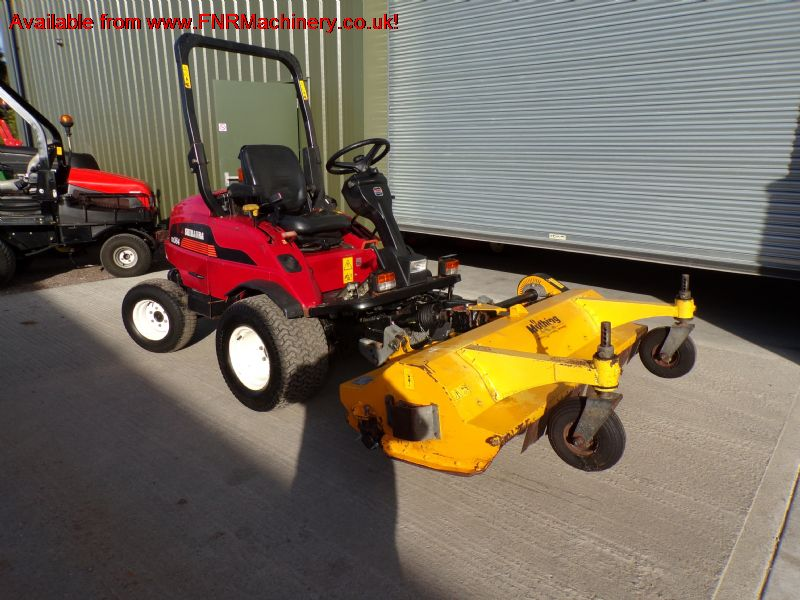 SOLD!!! SHIBAURA CM364 MOWER WITH MUTHING MUFM160