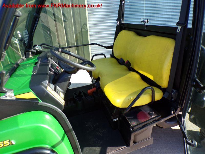 SOLD!!! JOHN DEERE XUV 855D GATOR FULL CAB