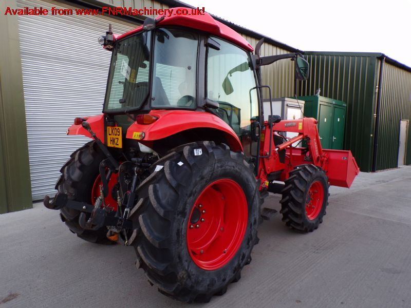 SOLD!!! KUBOTA M7040 TRACTOR WITH FRONT LOADER