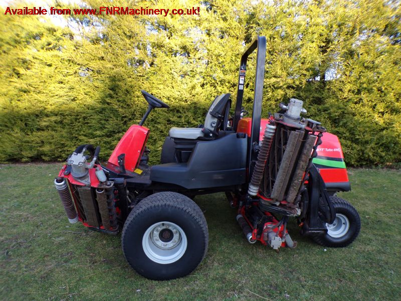 SOLD!!! JACOBSEN LF 4677 FAIRWAY 7 GANG MOWER