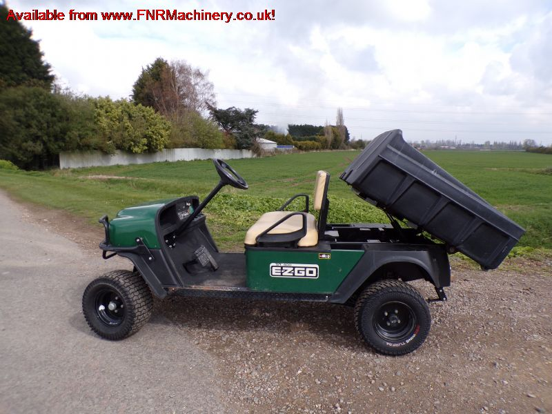 sold ! EZGO ST 400 UTILITY VEHICLE buggy truck gol