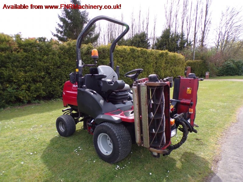 TORO HAYTER LT3340 TRIPLE RIDE ON MOWER