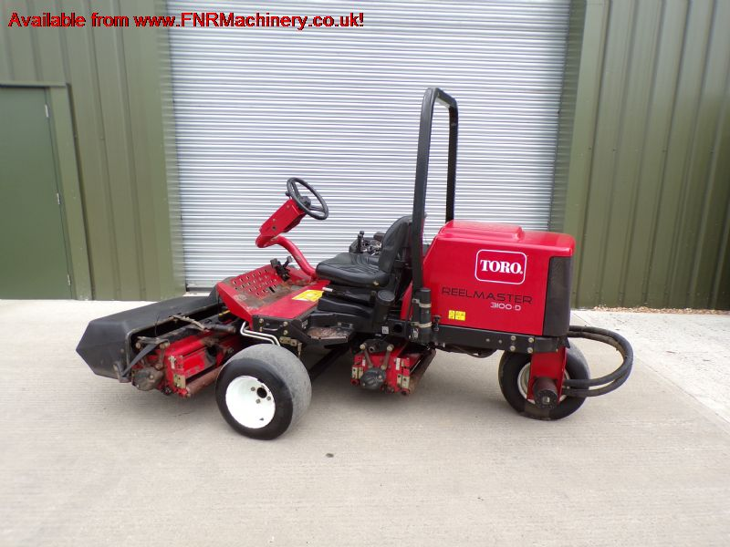 SOLD ! TORO REELMASTER 3100D RIDE ON MOWER