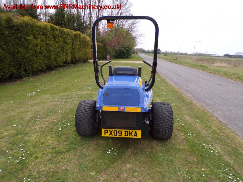 ISEKI ZERO  SZ330  MOWER diesel for trees rotary r