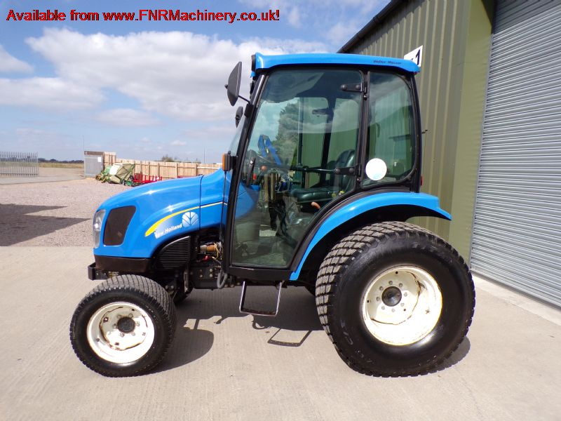 sold ! NEW HOLLAND TC40DA COMPACT TRACTOR 4X4 CAB