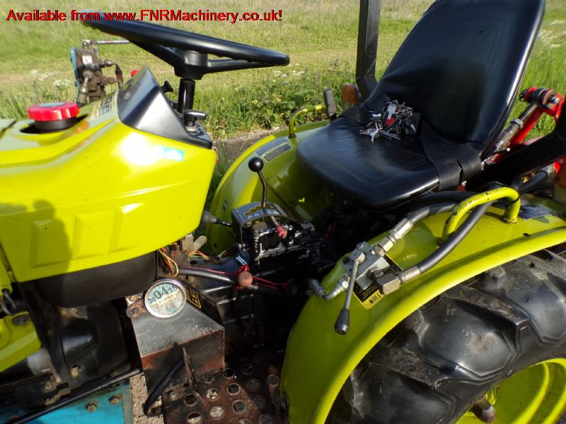 YANMAR YM186D COMPACT TRACTOR DOSER ROTAVATOR