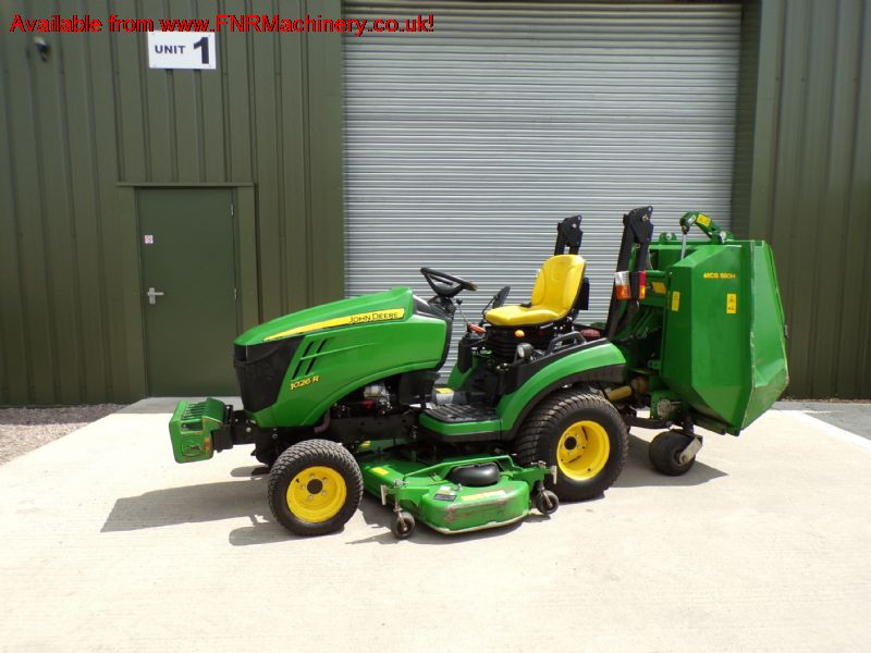 sold ! JOHN DEERE 1026R SUB COMPACT TRACTOR