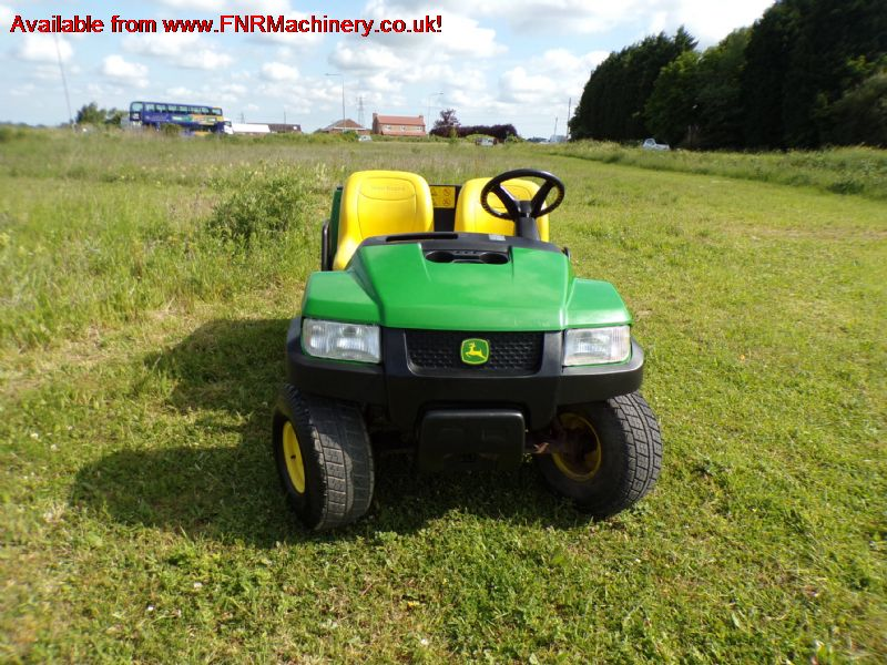 sold JOHN DEERE CX PETROL UTILITY CAR year 2015 ga