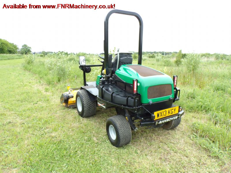sold ! RANSOMES HR300 RIDE ON MOWER FLAIL HEAD