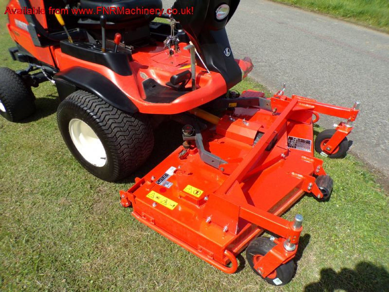 SOLD!!!  KUBOTA F3090 FRONT ROTARY 61 IN REAR DISC