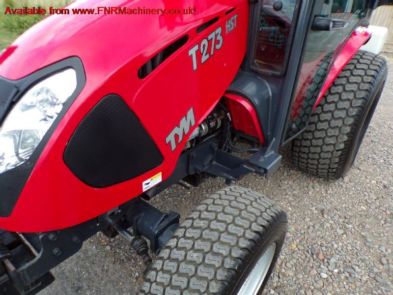 TYM T273 COMPACT TRACTOR WITH CAB