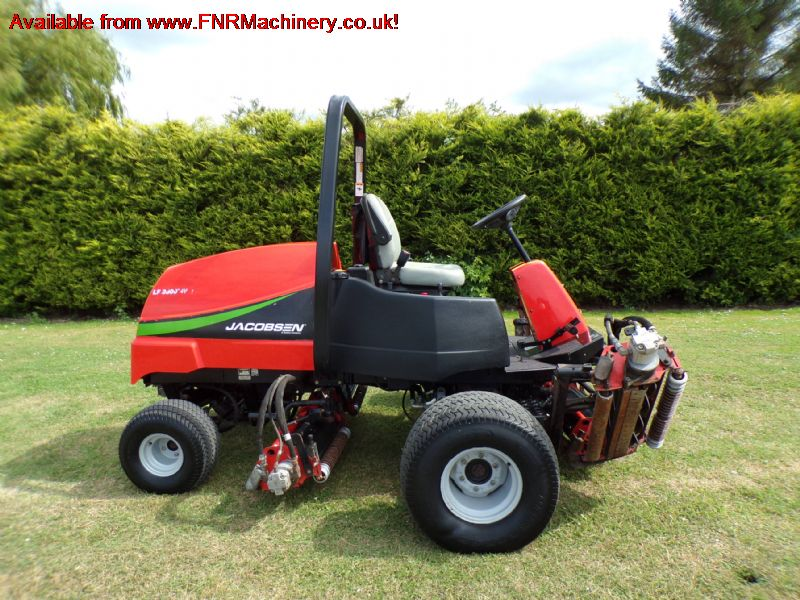 sold ! JACOBSEN LF3800 5 CYLINDER FAIRWAY MOWER