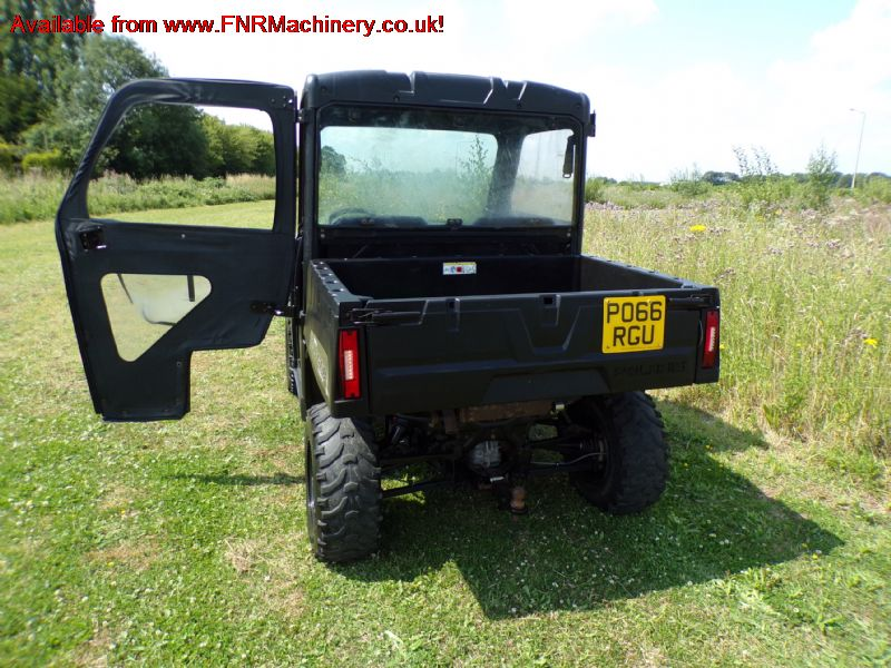 sold ! POLARIS RANGER UTILITY VEHICLE (PETROL)