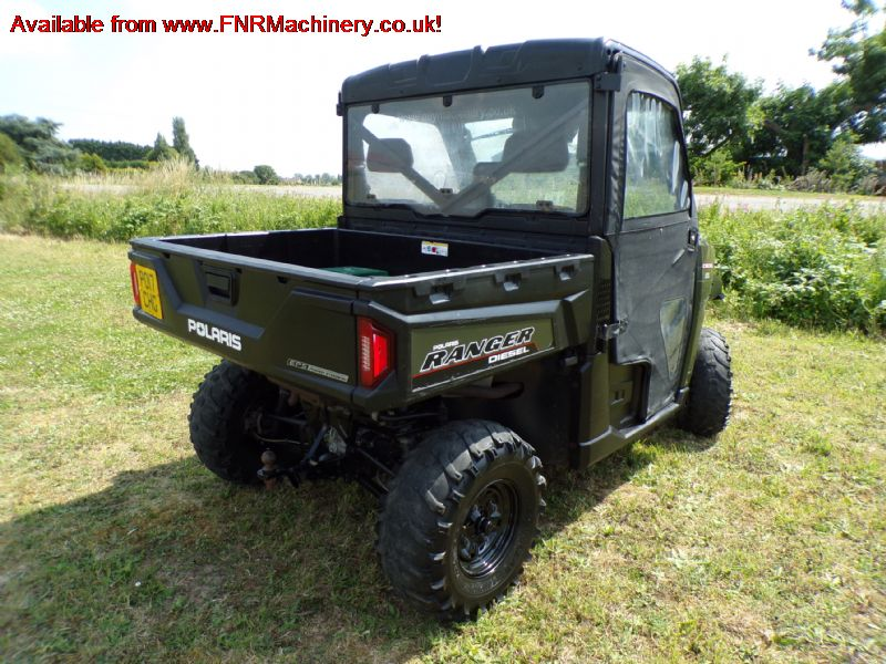 POLARIS RANGER 4X4 UTILITY VEHICLE (DIESEL)