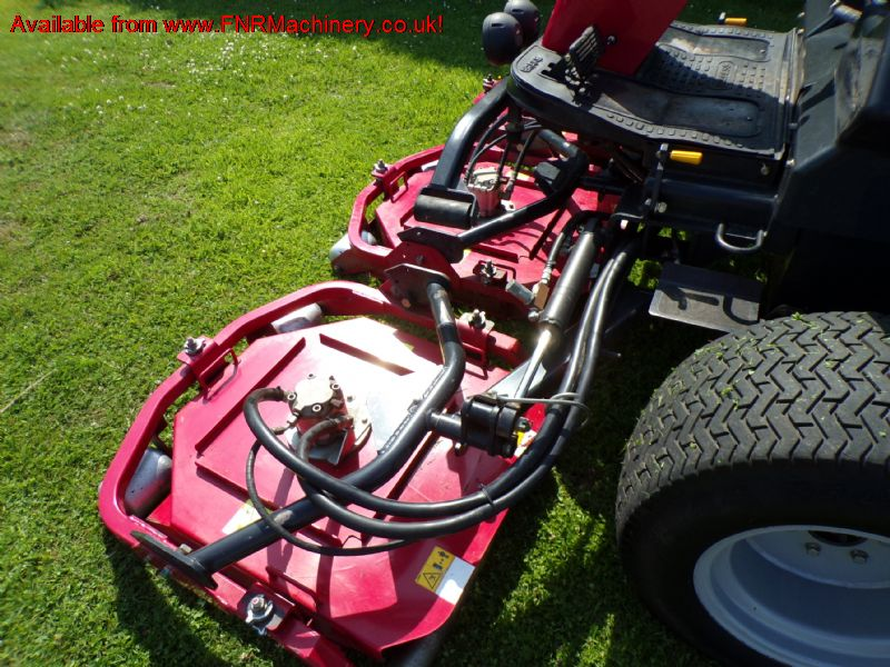 BARONESS GM2800A 5 ROTARY PODS FAIRWAY MOWER