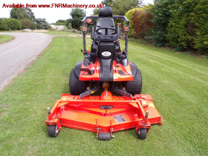 SOLD!!  KUBOTA F3890 OUTFRONT ROTARY MOWER