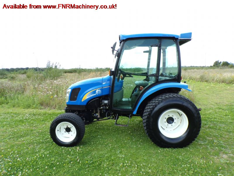 sold ! NEW HOLLAND TC40 DA COMPACT TRACTOR
