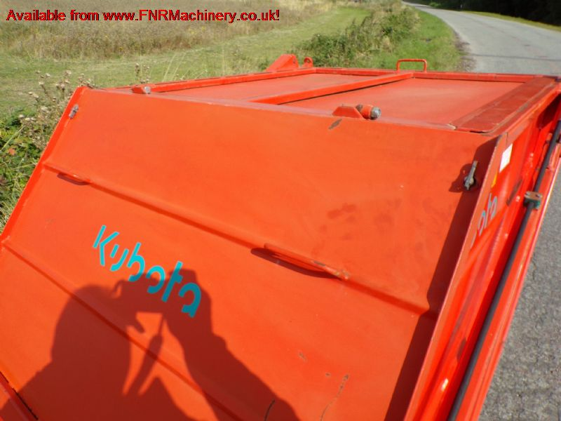 KUBOTA TSC120 TRACTOR TOW SWEEPER/COLLECTOR