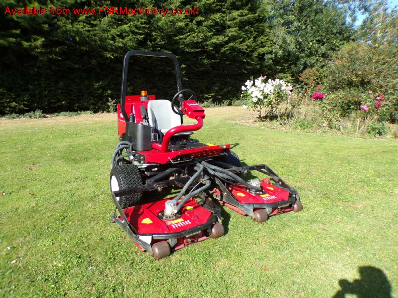 TORO 3505D GROUNDSMASTER RIDE ON MOWER