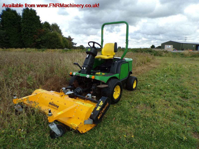 JOHN DEERE 1545 RIDE ON MOWER WITH MUTHING FLAIL