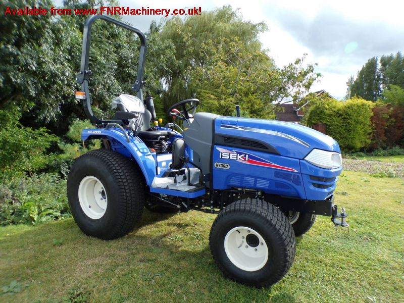 ISEKI TH4335 COMPACT TRACTOR 4x4 hst rops reduced
