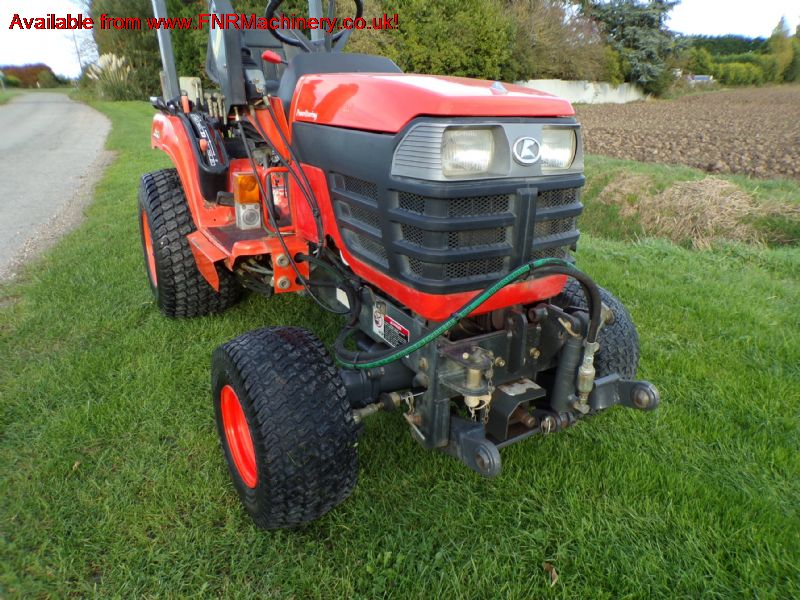 sold ! KUBOTA BX2200 COMPACT TRACTOR