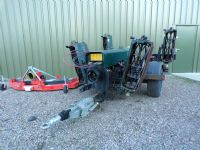HAYTER 5 GANG TRAILED CYLINDER MOWER