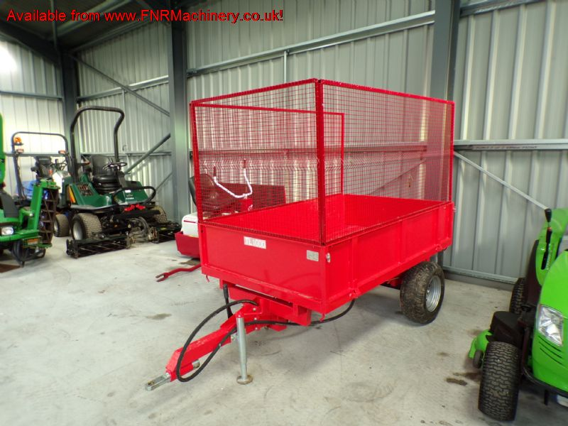 NEW TIPPING TRAILER WITH MESH SIDES