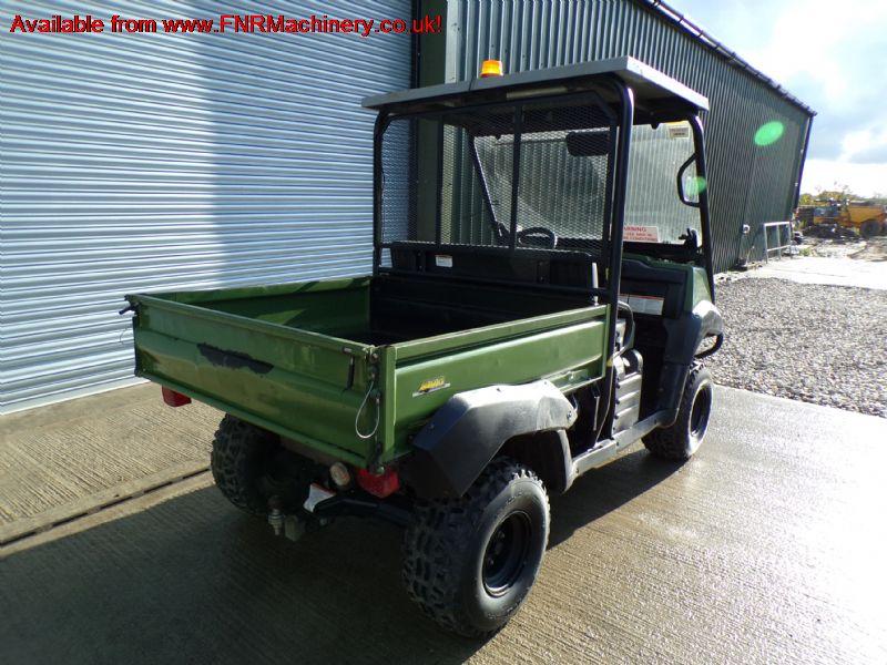 sold ! KAWASAKI MULE 4010 UTILITY VEHICLE  4WD