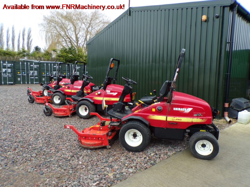 SHIBAURA CM374 OUTFRONT MOWER 60in Super Pro FXL