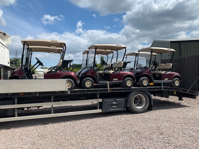 now all sold EZGO GOLF BUGGIES BATTERIES X6 BUGGY