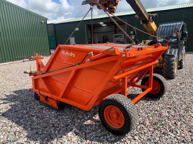 KUBOTA SWEEPER SC180 1.8 TRACTOR ATTACHMENTS