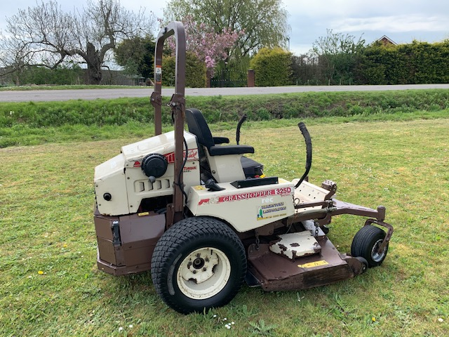 grasshopper 325d zero turn ride on mower
