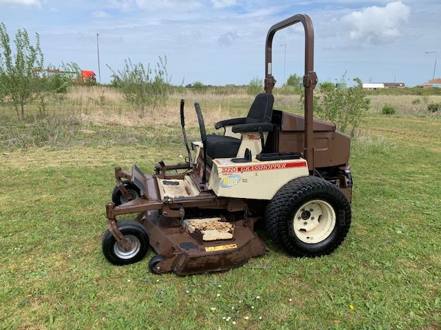 grasshopper 322d zero turn mower kubota diesel